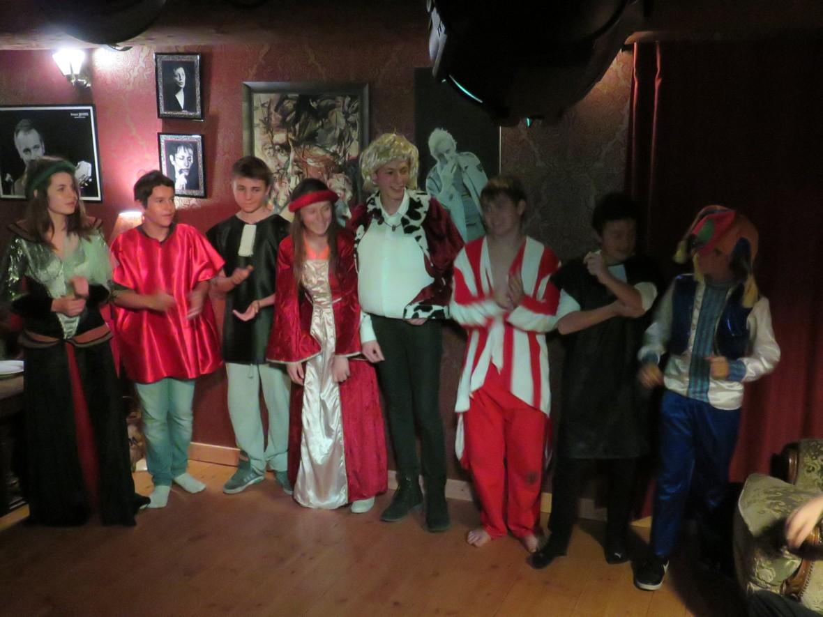 stages ados théâtre au Monto'Zar